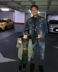 Neymar Jr and Batman (davi lucca)