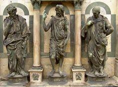 notizie  G.M.  guido michi: Predica del Battista di Francesco Rustici-Museo op...