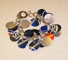 How to make a bracelet from old soda cans