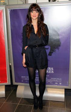 """2010 : le look de Charlotte Le Bon à la première du film """"Les Amours Imaginaires"""""""