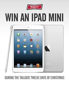 Win an iPad Mini from Tailgate!