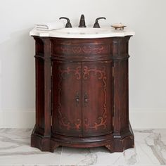 ARIANNA PETITE SINK CHEST - Ambella Home  #Bathroom #Vanity #Furniture #Sinkchest