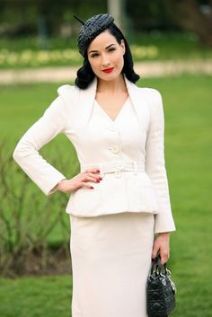 I fan girl over Dita all the time but I just love her style and the way she carries herself.