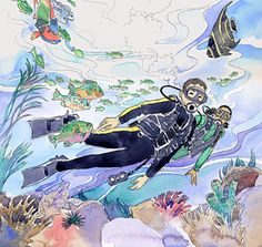 Aquarelle #divers