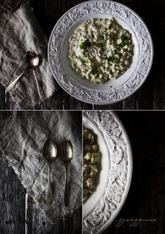 Beautiful dark food photography