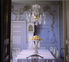 Fabulous Color Palette in this Simple and Sophisticated Dining Room! See more at thefrenchinspiredroom.com