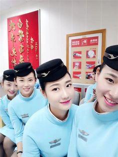 【China】 Xiamen Airlines cabin crew / 厦門航空 客室乗務員 【中国】