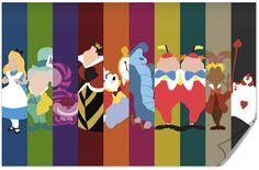 Disney Alice in Wonderland Poster on Etsy, $10.00