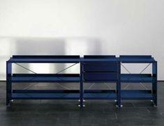 Aluminium shelves by Lehni | Shelving systems
