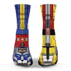 Voltron Legendary Defender Socks