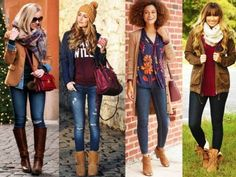 how-to-wear-maroon- How to wear stylish like fashion bloggers