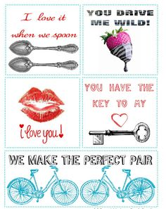 Free Printable Valentine's Day Love Notes from Jones Creek Creations, featured at printabledecor.net