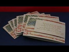 Patriotic cards: Unity Stamps & the Misti