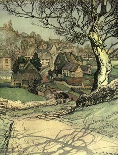 "dickensian-dandy: "" The village homes of England by Sydney R Jones 1912 """