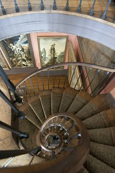 The spiral staircase at Musée Gustave Moreau, Paris
