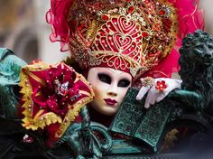 Venice Carnevale Costume Contest - Pick your fave and/or tag a suspected friend inside that mask! Over the next few days, I'll post 30 of my favourite costumes from the amazing event! Thanks again to all the incredibly kind people there that were open to me taking photos of them! And yes, you are free to share and share the love! :) #venice #carnevale #carnival #carnivale #italy