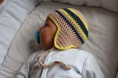 vielwelt: baby häkelmütze ERNA - anleitung