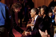 Dylan and Obama. I can't decide who I'm more jealous of.