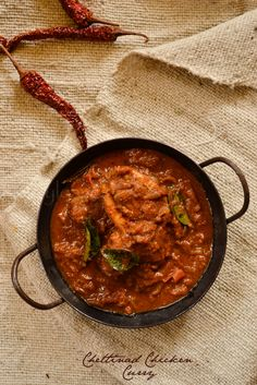 Chettinad Chicken Curry | kurryleaves