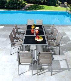 Table et chaises de jardin Centrakor