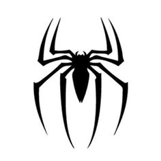 Spiderman Symbol Stencil - Visit to grab an amazing super hero shirt now on sale! - Visit to grab an amazing super hero shirt now on sale! Spiderman Stencil, Spiderman Tattoo, Spiderman Shirt, Star Wars Stencil, Stencil Art, Stencils, Siper Man, Printable Tattoos, Brush Tattoo