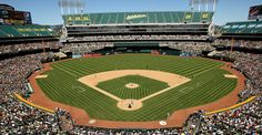 O.co Coliseum | Does that stand for Oakland Coliseum, or am I going to Overstock.com?  I don't really know, I just go where they tell me on these trips.