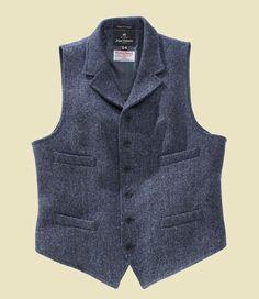 Nigel Cabourn... Nigel Cabourn, Tweed Run, Vest And Tie, Suit Accessories, Dapper Men, Harris Tweed, Sharp Dressed Man, Outfit Combinations, Dress For Success