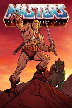 He-Man by spidermanfan2099.deviantart.com