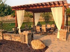 Patio and Pergola - Medina landscaping | free estimates - paver patios | outdoor fireplace s