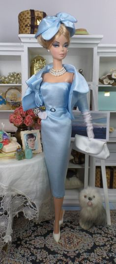 """""""All About Blue"""" by Matisse Fashions for Silkstone Barbie"""
