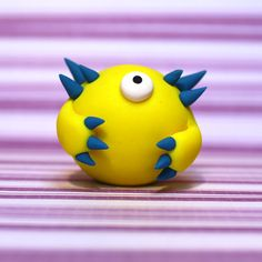 Hubidor the Timid Monster by TrishCzech on Etsy, $15.00