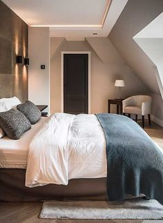 Home architecture design staircases Ideas Home Bedroom, Master Bedroom, Bedroom Decor, Villa, Architecture Design, Loft Room, My New Room, Apartment Design, Modern House Design