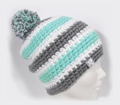 302 Best Couture Crochet Pompom Hats Images Pom Pom Hat Slouchy