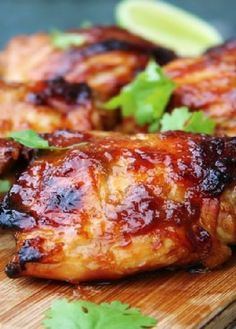 Low FODMAP Recipe and Gluten Free Recipe - Maple Glazed Chicken  http://www.ibs-health.com/low_fodmap_maple_glazed_chicken.html