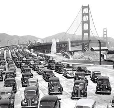 Opening of the Golden Gate Bridge   - Explore the World with Travel Nerd Nici, one Country at a Time. http://TravelNerdNici.com
