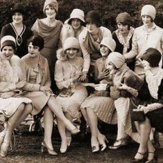 U.K. Tea party, London, 1920's