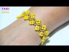 Beaded Bracelets Tutorial, Beaded Bracelet Patterns, Handmade Bracelets, Beading Patterns, Beaded Jewelry, Beaded Necklace, Seed Bead Tutorials, Beading Tutorials, Bracelet Making