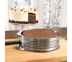 Frieling Layer Cake Slicing Kit, 3 piece | CHEFScatalog.com