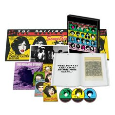 NOVEDAD: The Rolling Stones Some Girls - Super Deluxe Edition Boxset Limited Edition - Disponible en MUNDUS! #TheRollingStones #RollingStones #SomeGirls #Vinilos #Discos #Rock #LP http://www.mundusmusica.com.ar/musica/cd/rock-pop/internacional/the-rolling-stones-some-girls-super-deluxe-edition-box-set-on-limited-edition-2cd-dvd-7-vinyl-book-postcards/