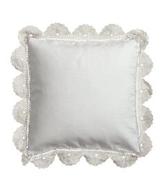 Cushion cover in linen #HMHome
