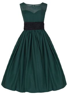 Lindy Bop 'Serena' Elegant Vintage Chiffon Prom Dress / Ball Gown [UK & Ireland Buy Now: (On sale from 50s Prom Dresses, Event Dresses, Ball Dresses, Ball Gowns, Bridesmaid Dresses, Wedding Dresses, Vintage Inspired Fashion, Vintage Inspired Dresses, Robe Swing