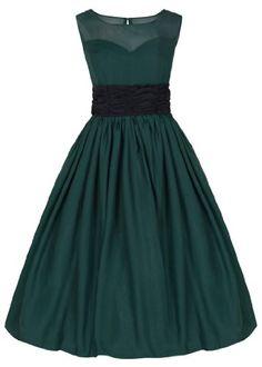Lindy Bop Women's 'Serena' Elegant Vintage 1950's Chiffon Prom Dress / Ball Gown (XS, Bottle Green) Lindy Bop,http://www.amazon.com/dp/B00I5NMB2Y/ref=cm_sw_r_pi_dp_Ek3mtb1XDTX8K40N