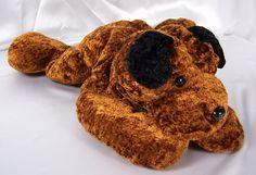 Kelly Toys Plush Floppy Dog Stuffed Animal Pillow Pal #KellyToy