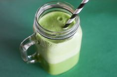 spinach, lemongrass and coconut water