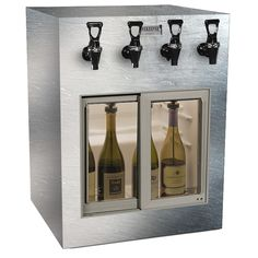 Learn more about our WineKeeper Monterey 2 Red + 2 White (Special Laminate) Only at IWA Wine Accessories! Cooking With White Wine, Wine Dispenser, Wine By The Glass, Types Of Wine, Expensive Wine, Cheap Wine, Wine Fridge, Wine Storage, Sliding Glass Door