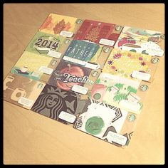 More than a gift card. #starbucks #starbuckscard #usa #photoadayjuly