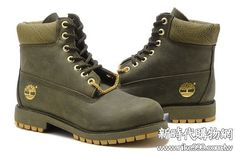 low priced c725c 34573 Best Price Timberland Men s 6 Inch Boots-Army Green with Glod Chain