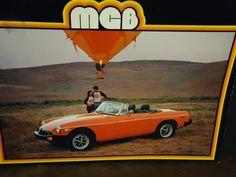 vintage 1978 MGB Dealership brochure