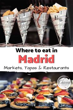 Madrid Foodie Guide - Restaurants in Madrids Malasaña, Chueca und La Latina, # . - Madrid Foodie Guide – Wo in Madrid Malasaña, Chueca und La Latina zu essen - Breakfast In Madrid, Places To Eat Breakfast, Tapas Restaurant, Tapas Bar, Europe Destinations, Latina, Madrid Guide, Honey Moon, Madrid Restaurants