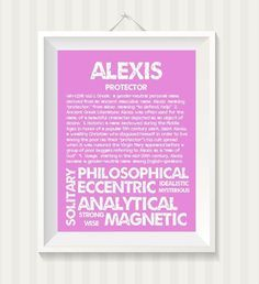 Image Result For Alexis Name Meaning